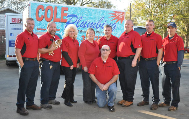 Cole Plumbing - Our Team - Motgomery AL Plumber